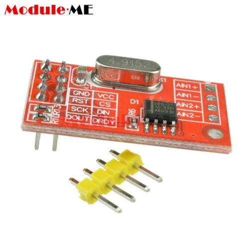 AD7705 Dual 16-bit ADC Data Acquisition Module SPI Precise TM7705 TOP UK