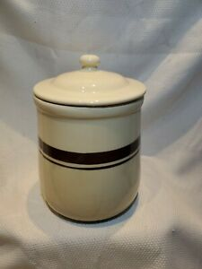 Vintage McCoy Pottery Canister with Lid