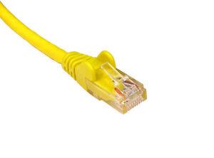 1.5 Mètres Jaune Cat5e Ethernet Câble Patch Patch Plomb Plus Sur Notre Boutique Ebay-afficher Le Titre D'origine