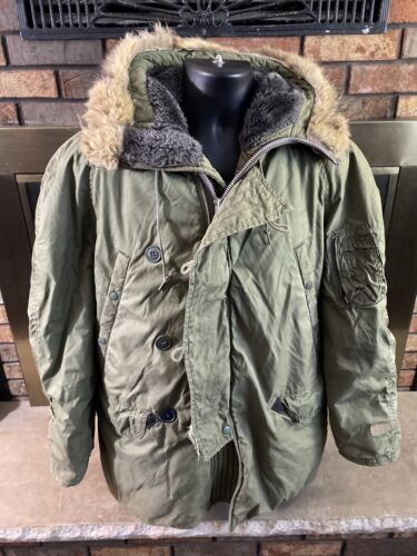 Vintage N3B Air Crew Alpha Industries Flight Jacke