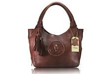 Borse Pelle Brown Leather Handbag Bolso Piel L Handtasche Leder Sac A Main Cuir