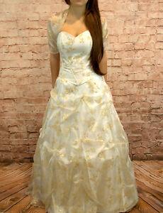 Hochzeitskleid Brautkleid | Hochzeitskleid Brautkleid Hochzeit Braut Corsage Kleid Rock Gr 34 38