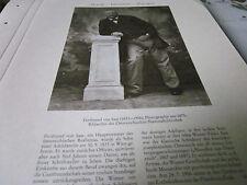 Wien Archiv 6 Kultur 3078 Ferdinand von Saar 1833-1906