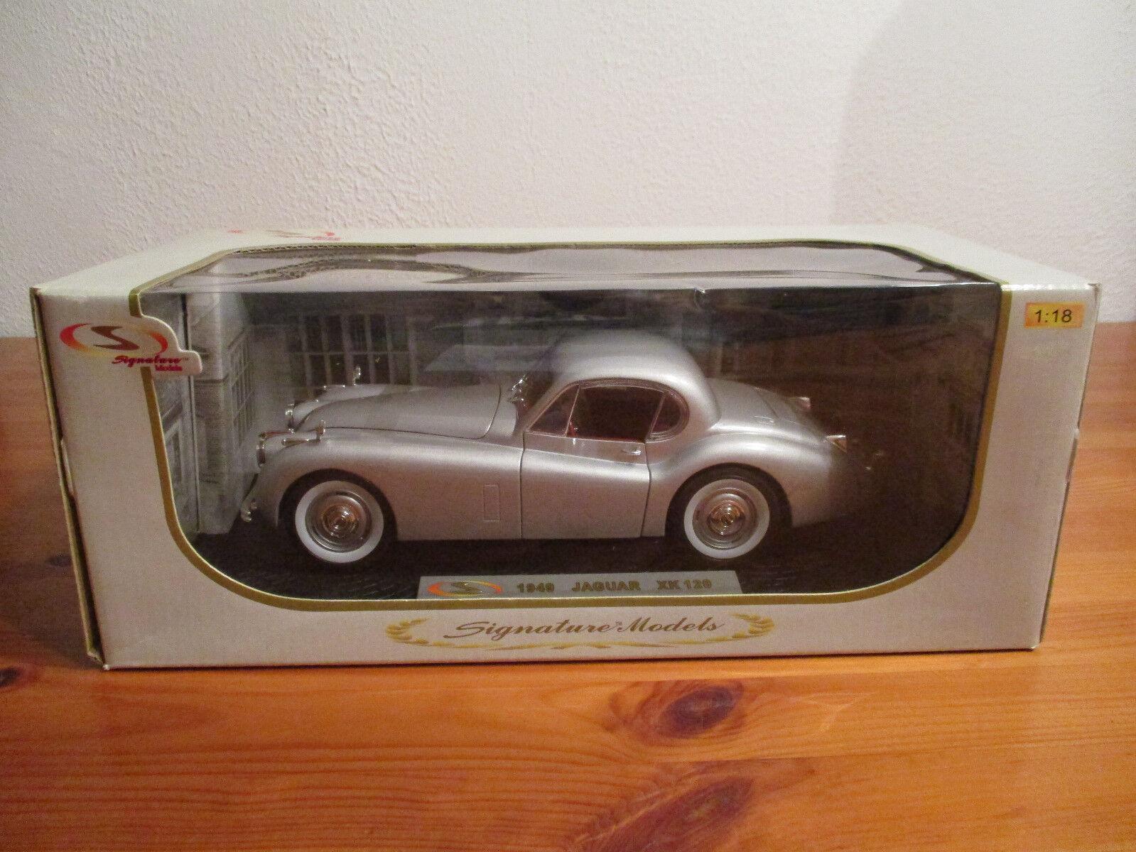 ( GO ) 1 18 Signature Models 1949 1949 1949 Jaguar XK 120 neuf emballage scellé adc546