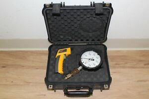 Image Is Loading Fluke 62 Mini IR Thermometer W USG Pressure