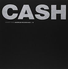 JOHNNY CASH : THE AMERICAN RECORDINGS BOX SET I - VI  (7 disc LP Vinyl) sealed