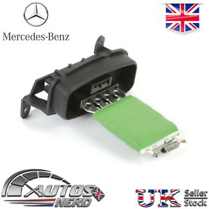 Blower-Motor-Regulator-Series-Resistor-Mercedes-Vito-1996-2003-0018212560