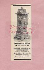 EISENBERG, Werbung 1907, Gebrüder Gienanth Dauerbrandöfen
