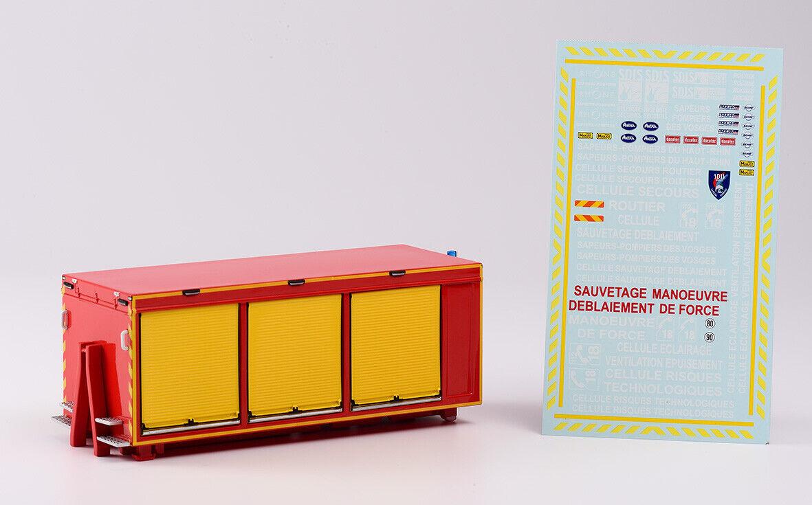 Eligor 116283 - Solarzelle Hilfe Straßenfahrzeug Behm - Sdis 68 Feuerwehr 1 43