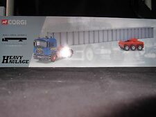 Corgi Heavy Haulage I.R. Dunkerley MAN Tractor Unit, Bogie & Bridge Beam Load