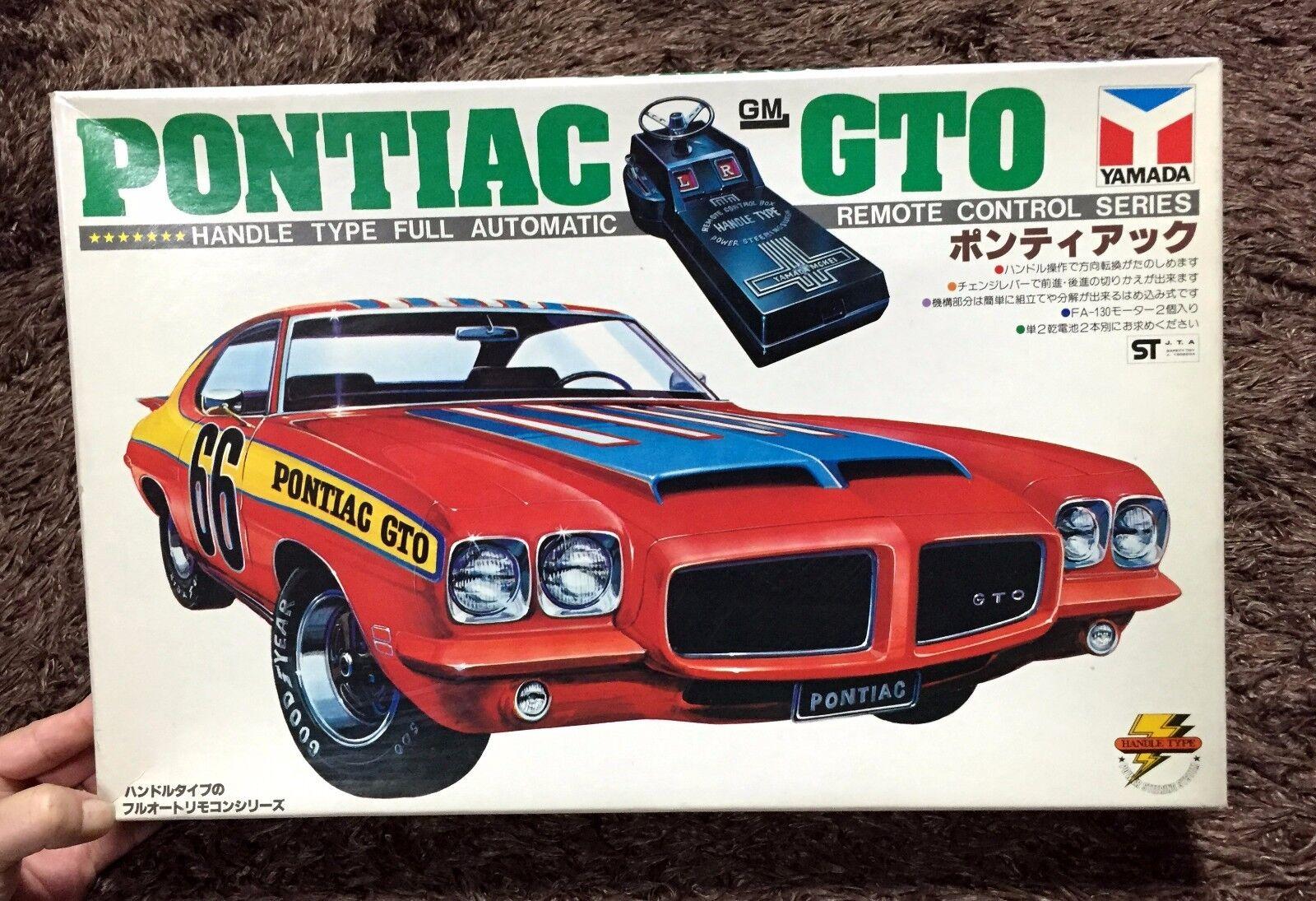 GM PONTIAC GTO  REMOTE CONTROL  MODEL KIT YAMADA JAPAN