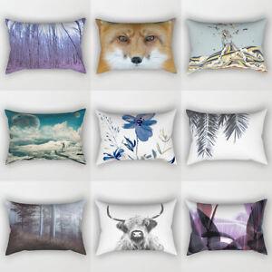 Am-BU-Beautiful-Scene-Rectangle-Sofa-Cushion-Cover-Throw-Pillow-Case-Pillowcas