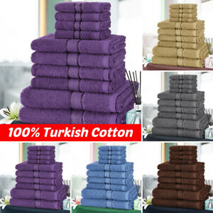 100-Cotton-Skin-Friendly-Bath-Towel-Hand-Towel-Face-Washer-or-9-pcs-Towel-Set