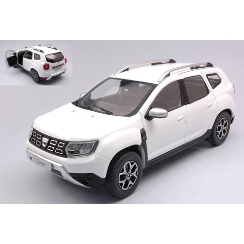 DACIA DUSTER MK2 2018 WHITE 1:18 Solido Auto Stradali Die Cast Modellino