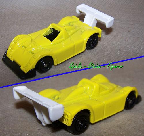 Race Car, Hot Wheels Metal Model Car   Promo 2001 Yellow