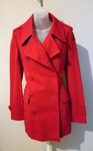Size 8 IISLI Red Military Double Breasted Stretch