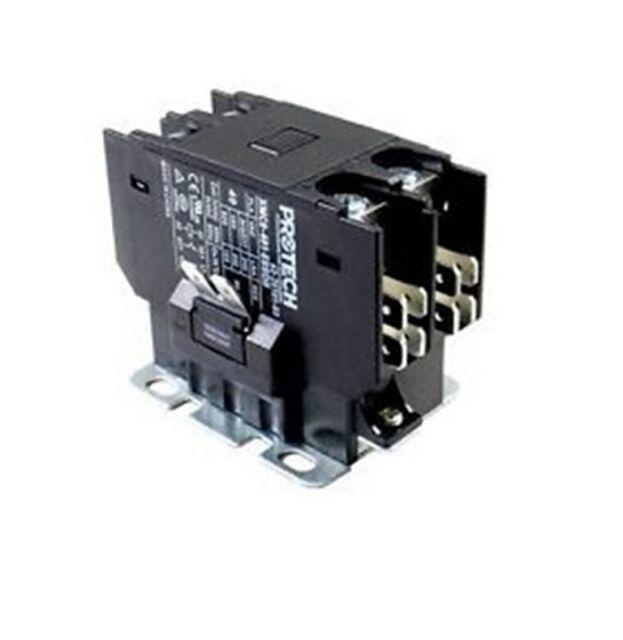 40 AMP RHEEM RUUD 42-25102-04 CONTACTOR 208//230 VOLT COIL TWO POLE