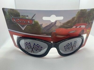 Strong-Willed Nwt Boys Kids Disney Pixar Cars Sunglasses Lightning Mcqueen Black Red 02 100% Original