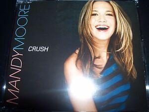 Image Is Loading Mandy Moore Crush Australian Cd Single Like New
