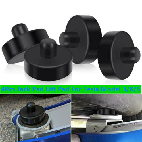 4Pcs Jack Pad Lift Point Pad Adapter Safe Raise Tool Kit For Tesla Model 3 //S ZD
