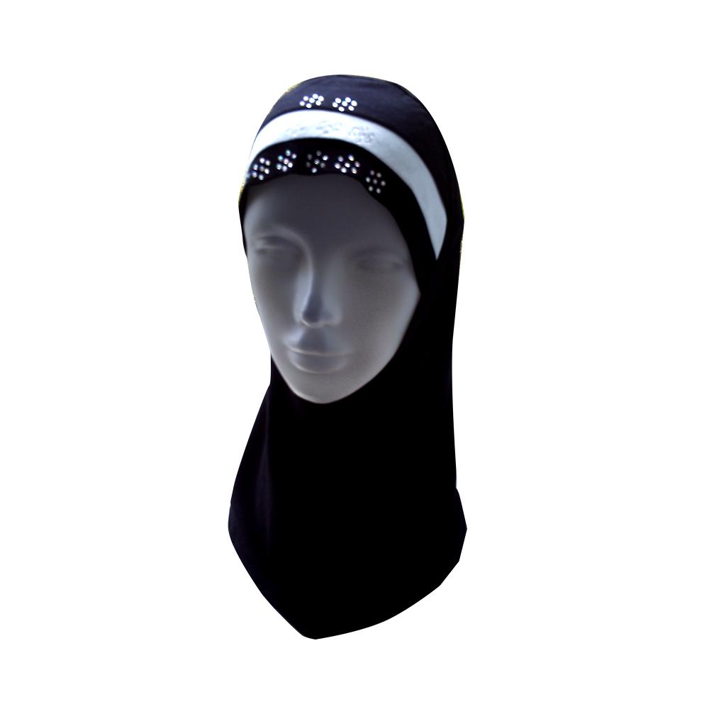 Fancy Crystal beads women girls Hijab Head wear cover scarf Islamic High Quality