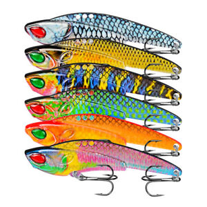 VIB Sequins Lure Metal Sequins Bait With Feathers Freshwater Sea  Fish Species