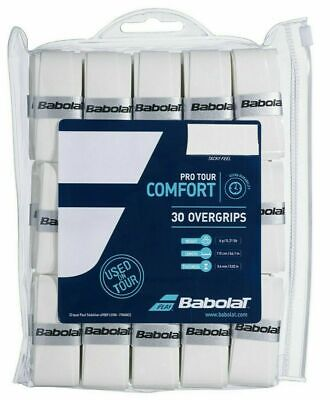Blue Signum Pro Tour Grip Tennis Badminton Overgrip 0.50mm Box of 30