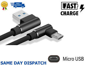 Charger Power Black Cable for TomTom RIDER 2015 GPS Sat Nav 2m USB Data