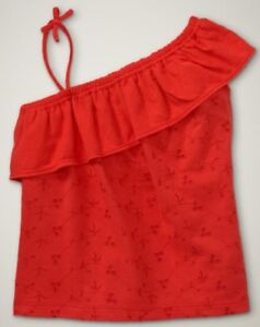 NWT-Baby-GAP-Girls-Asymmetrical-Eyelet-Cami-Top-12-24M