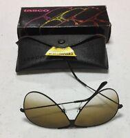 Tasco Shooting Glasses 1175d Dawn (brown) Acrylic Lens, Black Metal Frames