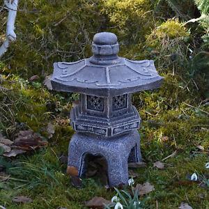 massif Japonaise LANTERNE EN PIERRE OKI gata Yukimi coloris ancien ...