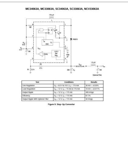 Replaces UC3842 USA Seller 6 pcs MC34063API DIP-8 Boost//Buck//Inverting IC