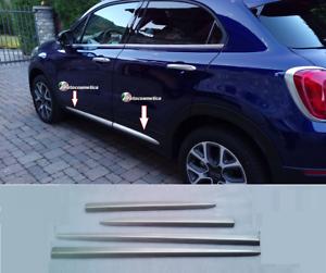 Modanature-Cornici-Profili-Minigonne-in-Acciaio-satinato-FIAT-500X-Made-in-Italy