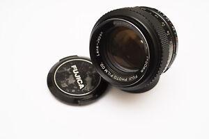 CLAed-Fujinon-50mm-f-1-4-m42-fast-prime-Lens-LUG-STOP-Modded-for-SLR-Mirrorless