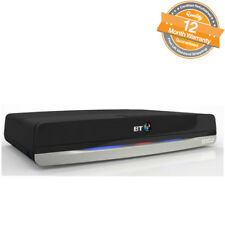 BT Youview Plus Set Top Box Home TV 500GB Recorder With Twin HD Freeview - Black