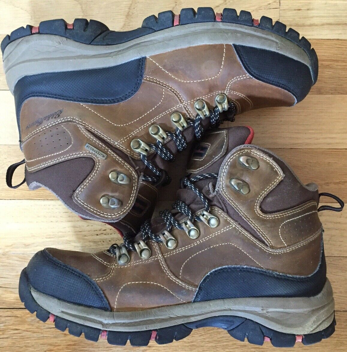 BY EDDIE BAUER Mens Hiking Boot Model Assorted Size New 10 Brown Fairmont Color