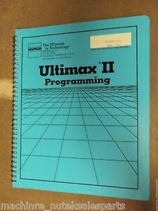 Hurco programming manual