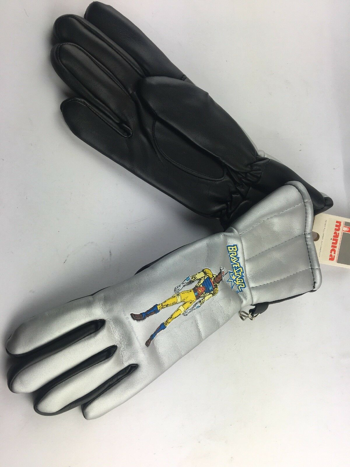 Bravestarr New With Tags 1980's Gloves 80's Kids gloves Very RARE Retro 80s TV