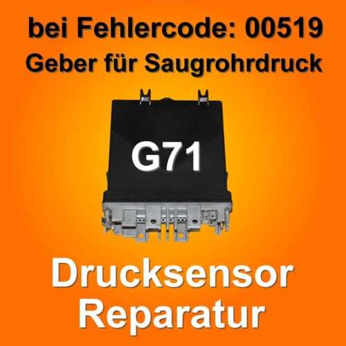 Drucksensor 100 kPa G71 MAP Sensor 023906022G 023 906 022 G AAF Steuergerät VW