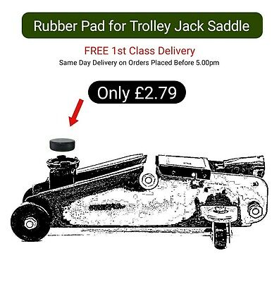 Rubber Pad for Trolley Jack Saddle + FREE 1st Class Delivery