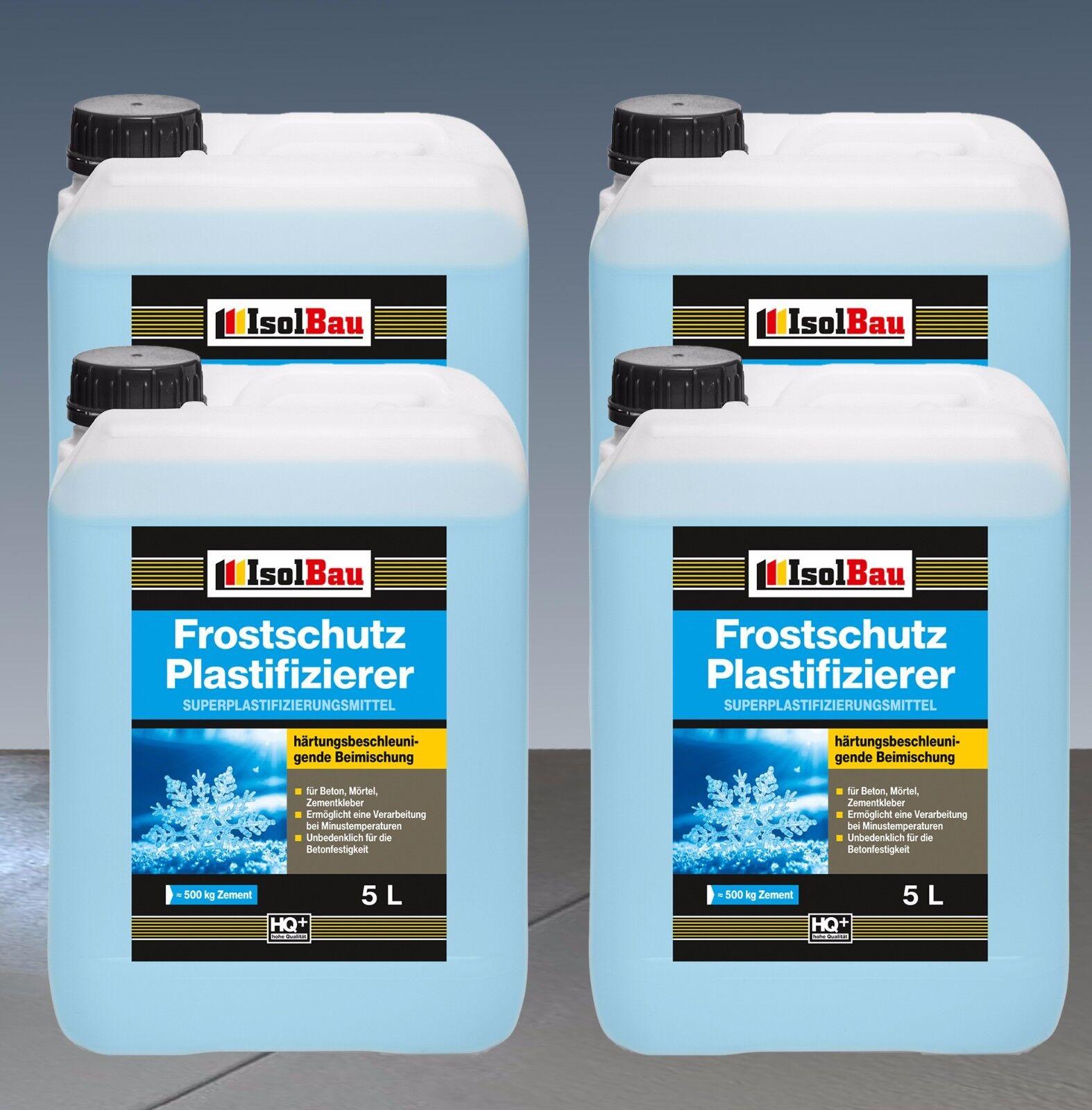 20L Beton-Zusatzmittel Frostschutz Plastifizierer Betonverflüssiger Verflüssiger