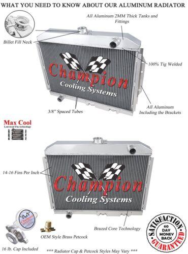 1970 1971 1972 1973 1974 1975 1976 1977 AMC Hornet 3 Row DR Champion Radiator