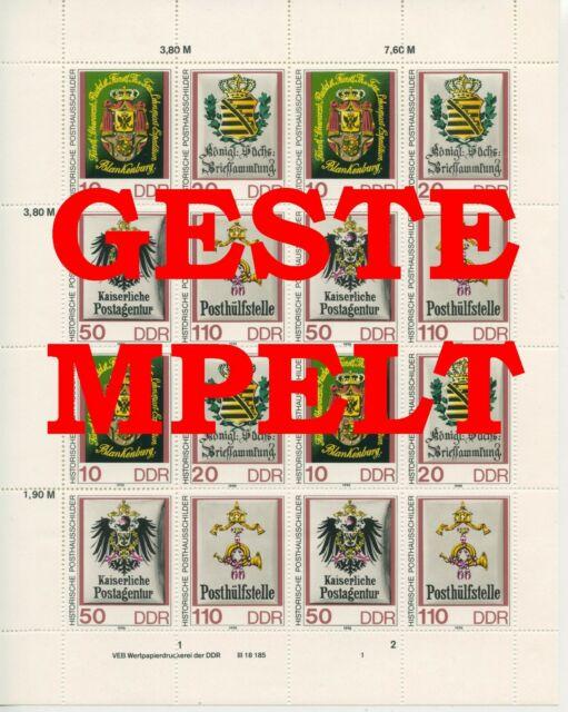 Germany GDR GDR 1990 Mi. 3306-3309 Zd-Arc Postmarked Used More See. Shop