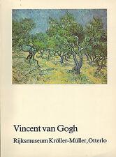 Bremer, Vincent van Gogh, Katalog 278 Werke Sammlung Kröller-Müller Otterlo 1983