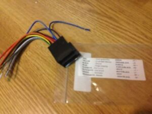 details about peterbilt semi truck stereo harness iso din wiring harness plug and play Audio Plug