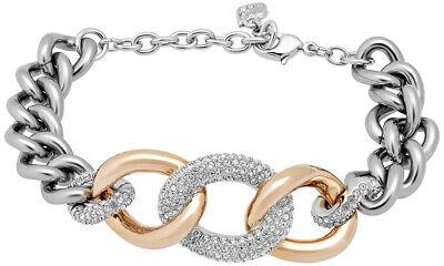 Swarovski Bound Crystal Pavé Chain Stainless Steel Bracelet for Women  5106536 | eBay