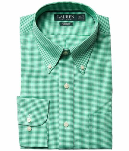 Lauren Ralph Lauren Dress Shirt Mens Classic Fit Long Sleeves Non Iron Cotton