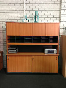 Wall-Unit-with-cupboard-doors-and-pigeon-hole-Office-Desk-Storage-Cabinets