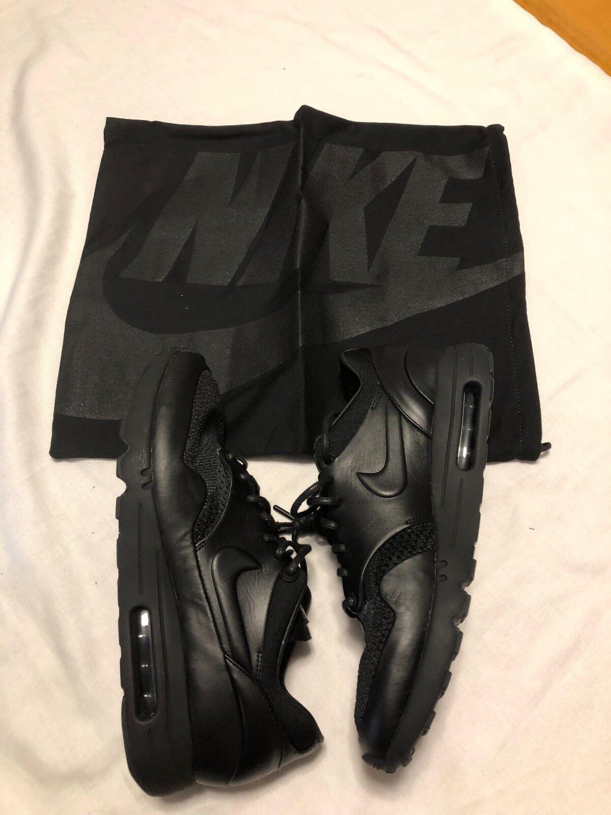 Nike air max 1 flyknit royal arthur huang 923005-001 - sz - box