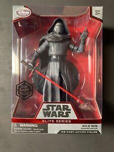 Disney Store Star Wars Force Awakens Jedi Kylo Ren Die Cast Elite Series Figure
